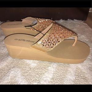 NWT! Olivia Miller platform sandals 👡